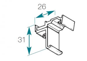 support-plafond-24x16