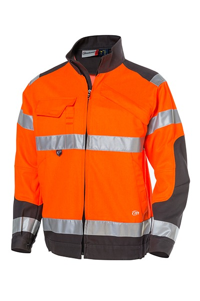 blouson LUKLIGHT Orange/Gris