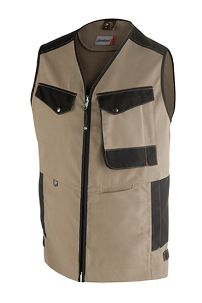 gilet OUTSUM beige