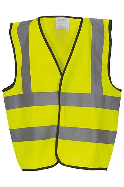 gilet YHVW100 enfant jaune