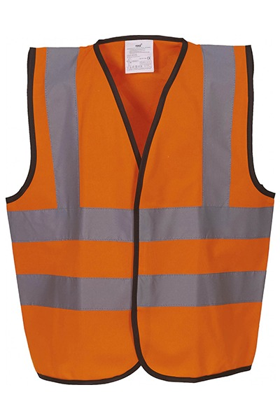 gilet YHVW100 enfant orange