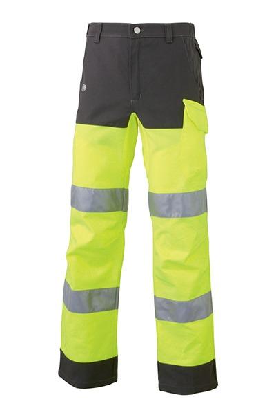 pantalon LUKLIGHT Jaune/Gris