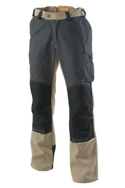 pantalon OUTFORCE beige/carbone