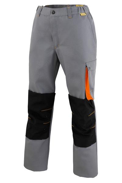 pantalon genouillères GROK gris