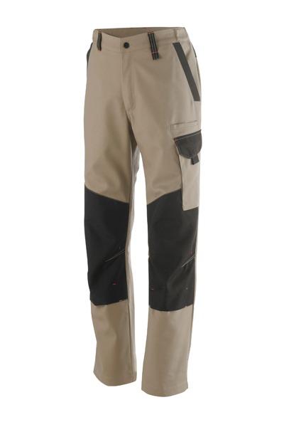 pantalon genouillères OUTSUM beige