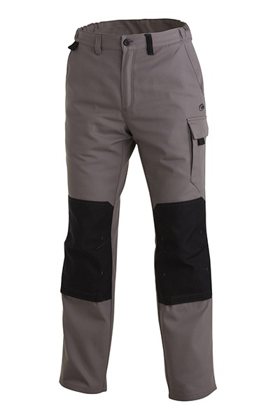 pantalon genouilleres OPTIMAX CP gris