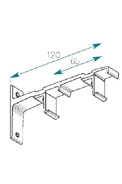 Accessoires tringle 24x16