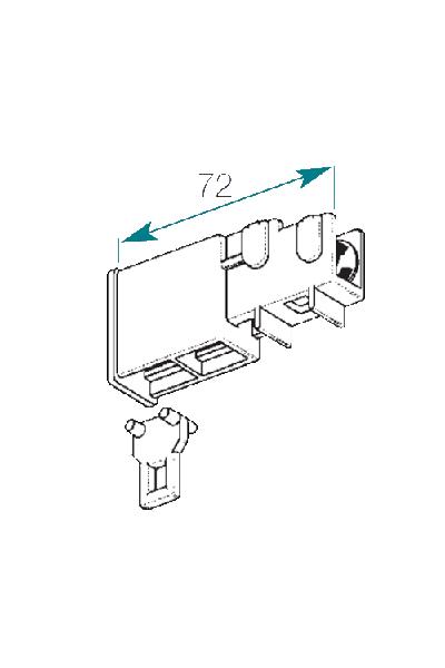 Accessoires tringle 35x20